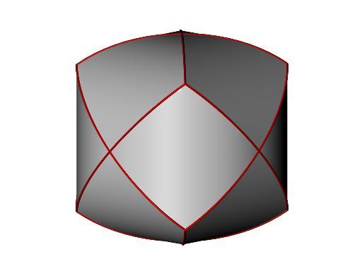 mathematik online aufgabensammlung aufgabe 622 oberfl che des schnitts dreier zylinder. Black Bedroom Furniture Sets. Home Design Ideas