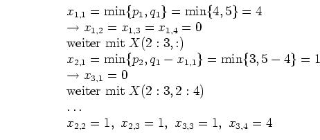 Mathematik-Online-Lexikon: Beispiel zum Simplex-Verfahren