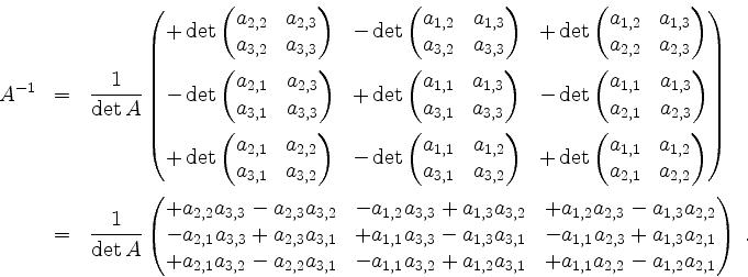 Determinante matrix berechnen online dating 4